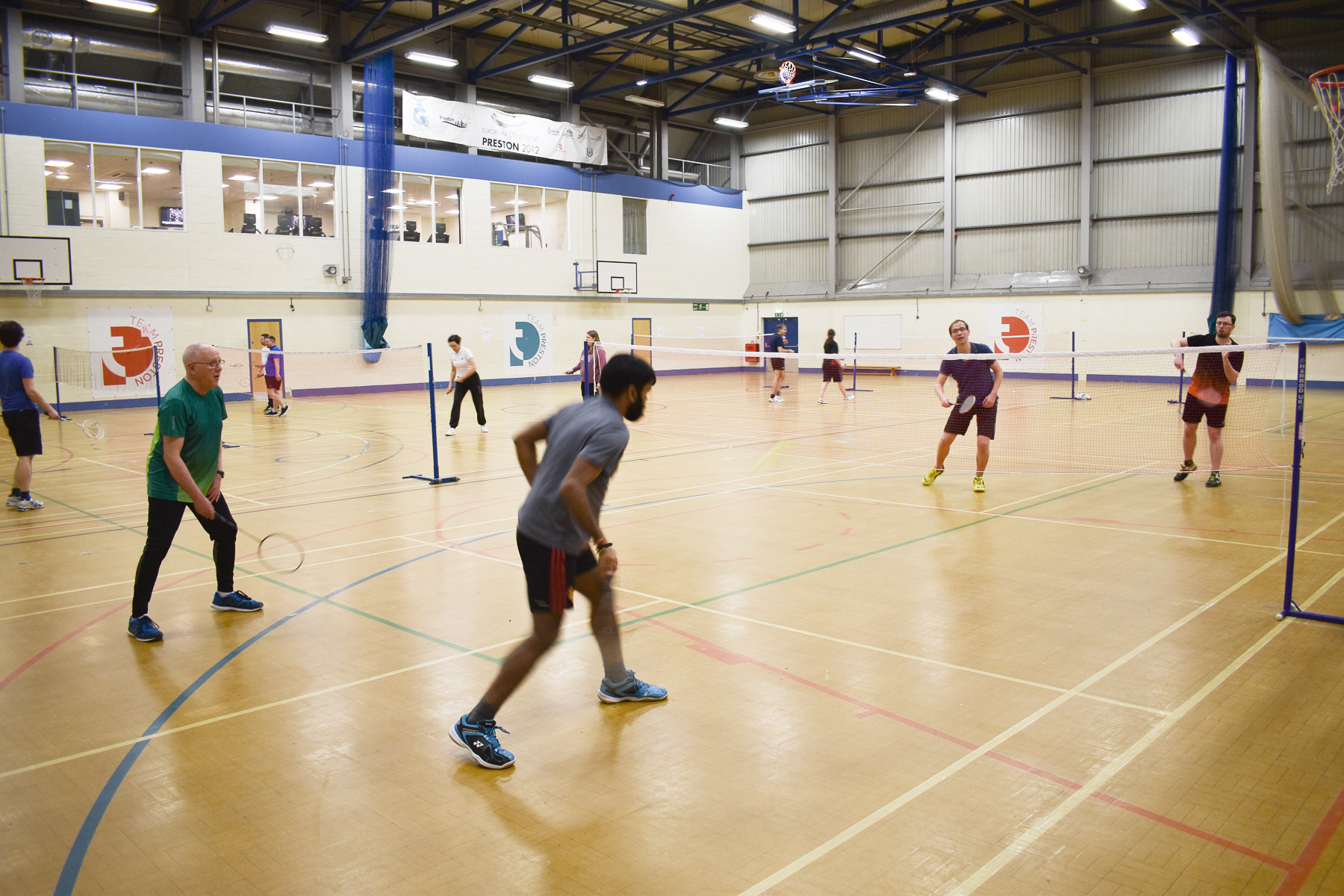 Badminton at Preston College