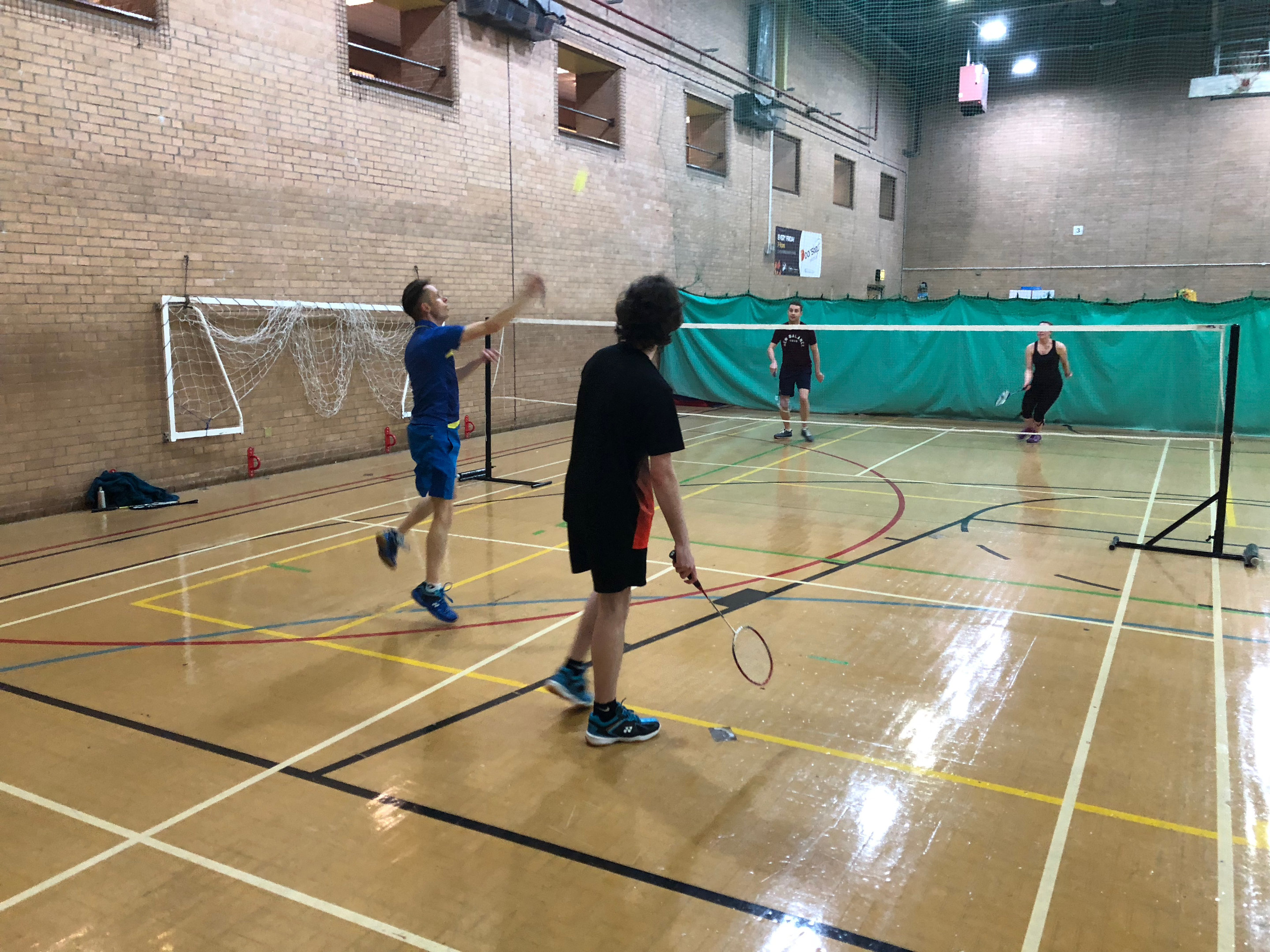 Badminton at Clayton Green Sports Centre