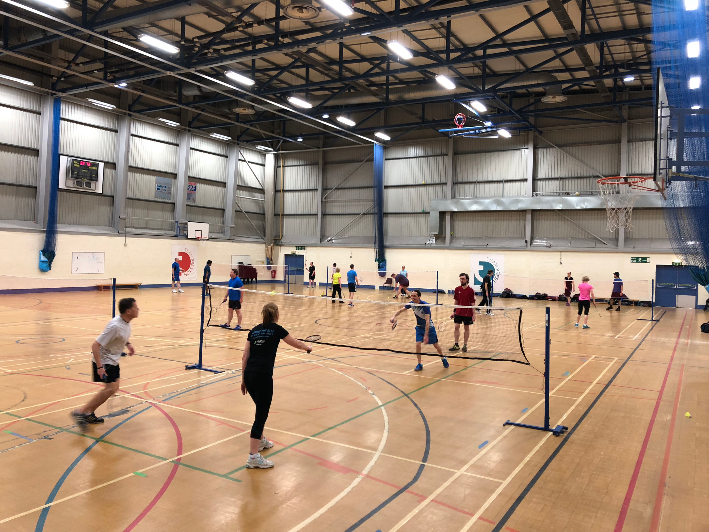 Badminton at Preston's College