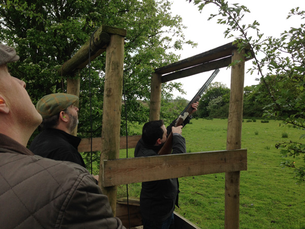 Clay Pigeon Shooting, Toplands Farm