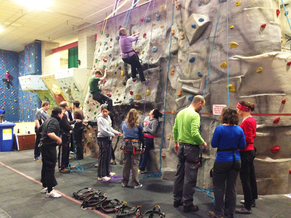 Indoor Climbing at West View Leisure Centre