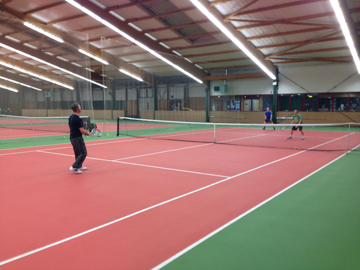 Tennis at South Ribble Tennis Centre