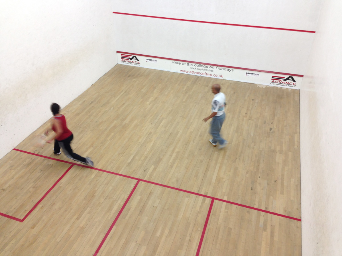 Squash at Preston College
