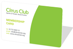 Citrus Club Membership Card